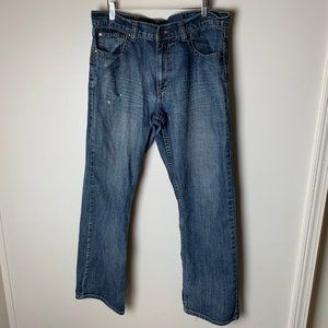Flypaper Jeans Size 34 x 32 Bootcut Distressed